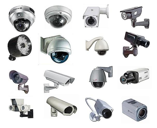احجام كاميرات المراقبة