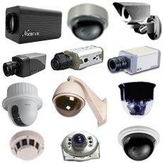 الكاميرات المراقبه